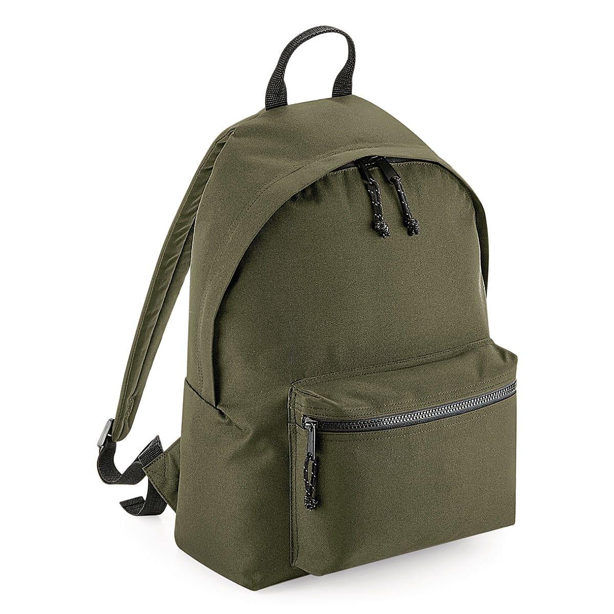 Bagbase Recycled Backpack in Military Green (Product Code: BG285)
