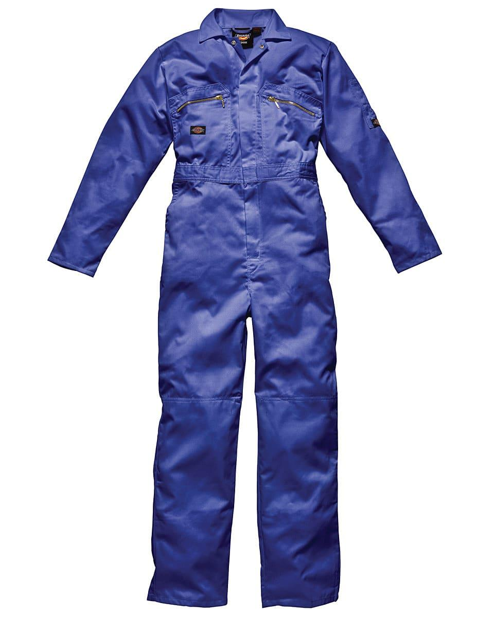 Dickies Redhawk Zip Front Coverall Tall in Royal Blue (Product Code: WD4839T)