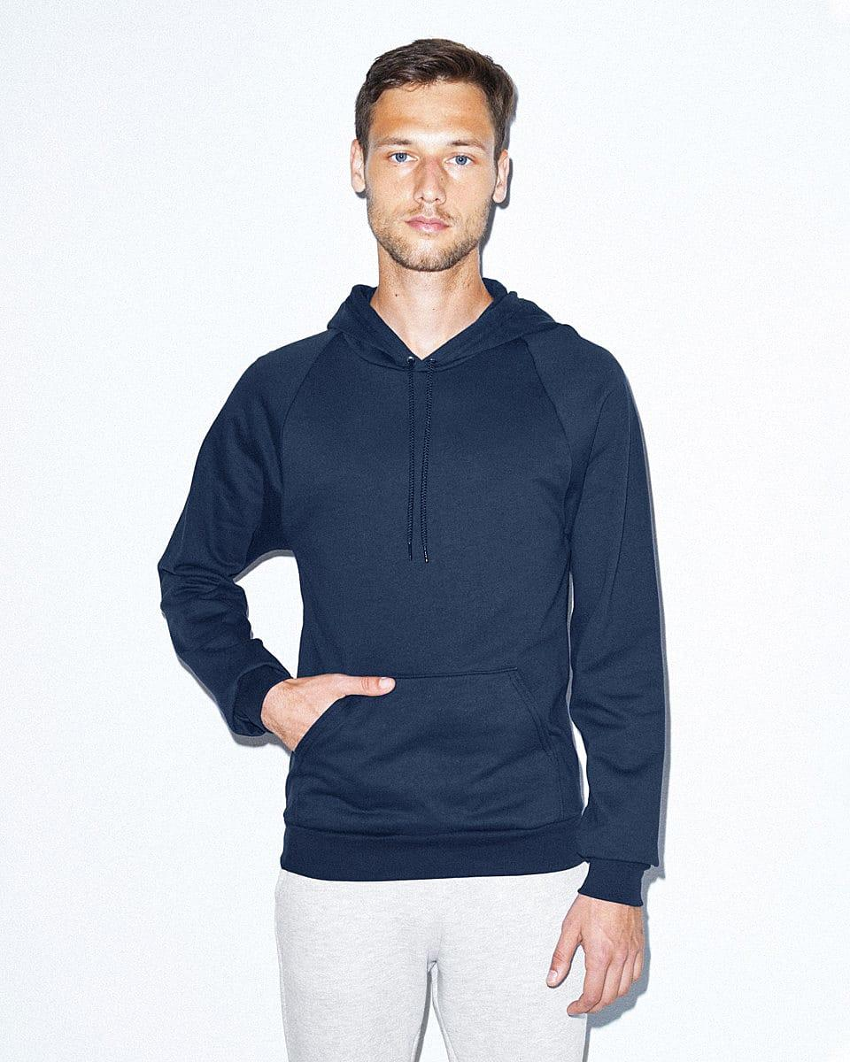 American Apparel Adult Pullover Hoodie in Navy Blue (Product Code: 5495W)