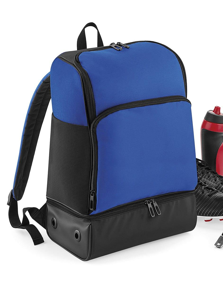 Bagbase Hardbase Sports Backpack in Bright Royal / Black (Product Code: BG576)