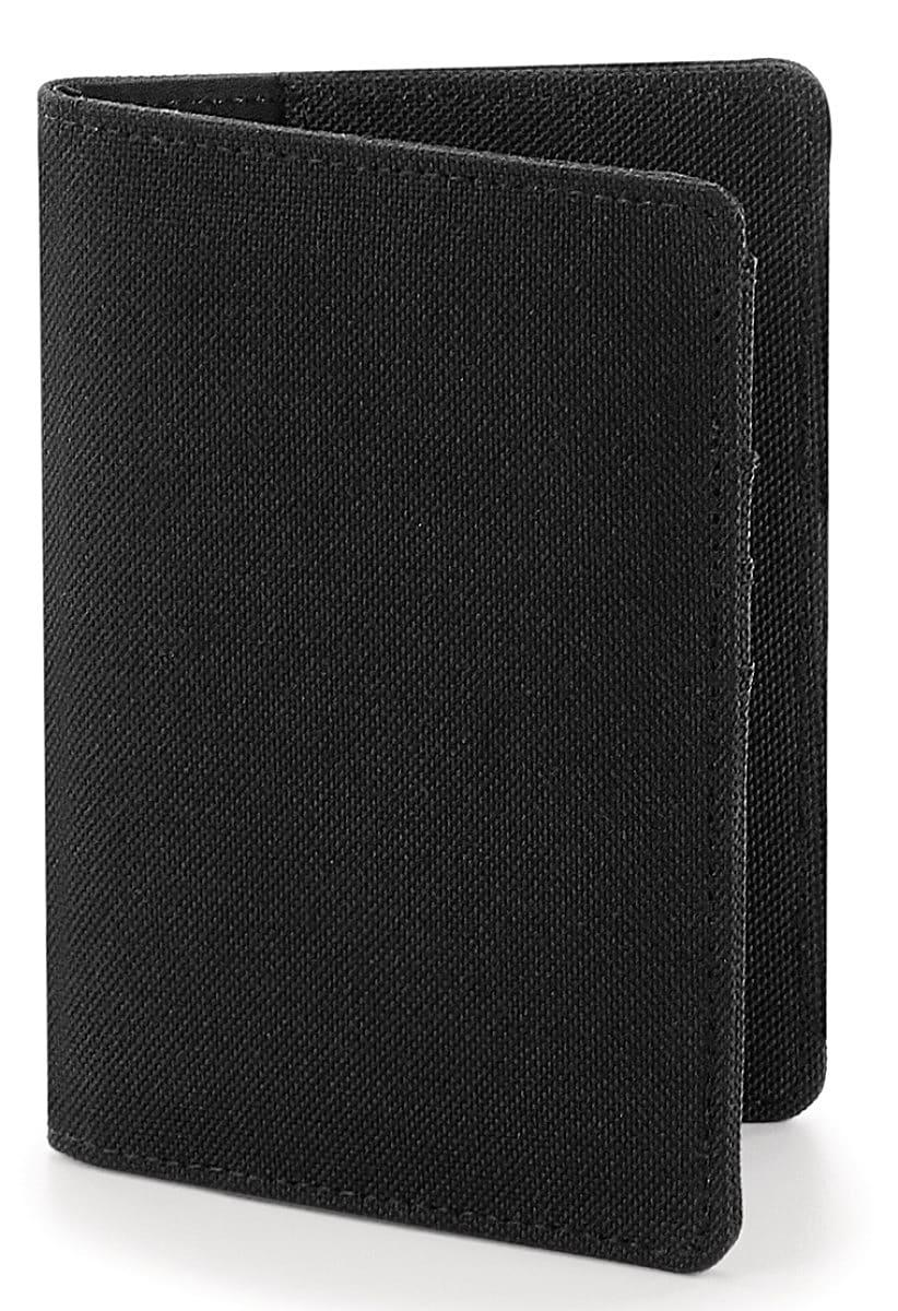 Bagbase Essential Passport Cover in Black (Product Code: BG60)