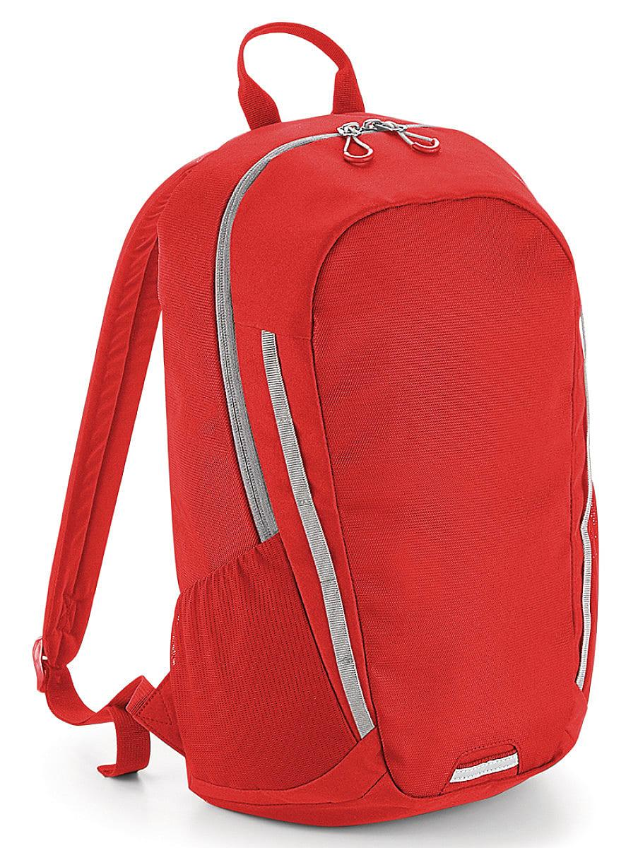 Bagbase Urban Trail Pack in Bright Red / Light Grey (Product Code: BG615)