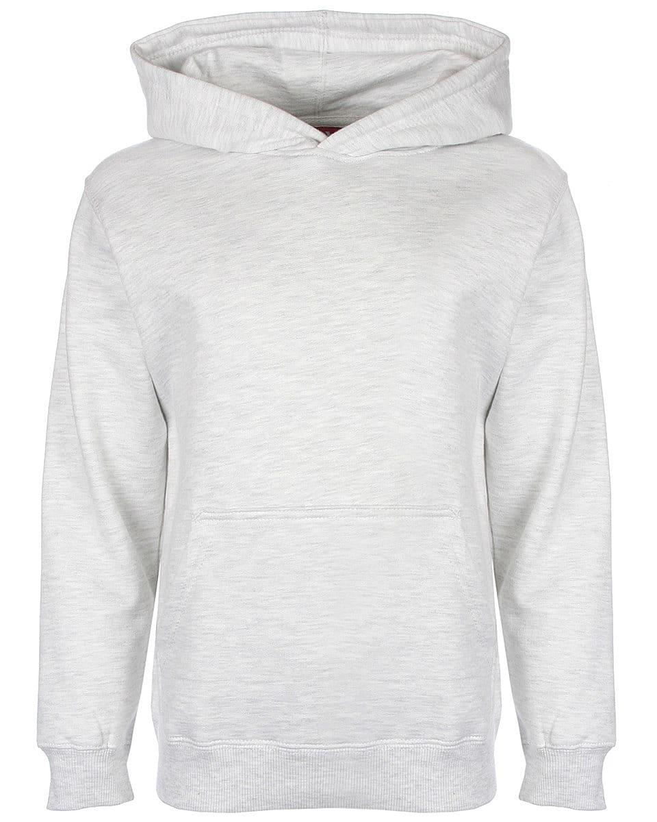 FDM Junior Hoodie in Sport Grey (Product Code: FH004)