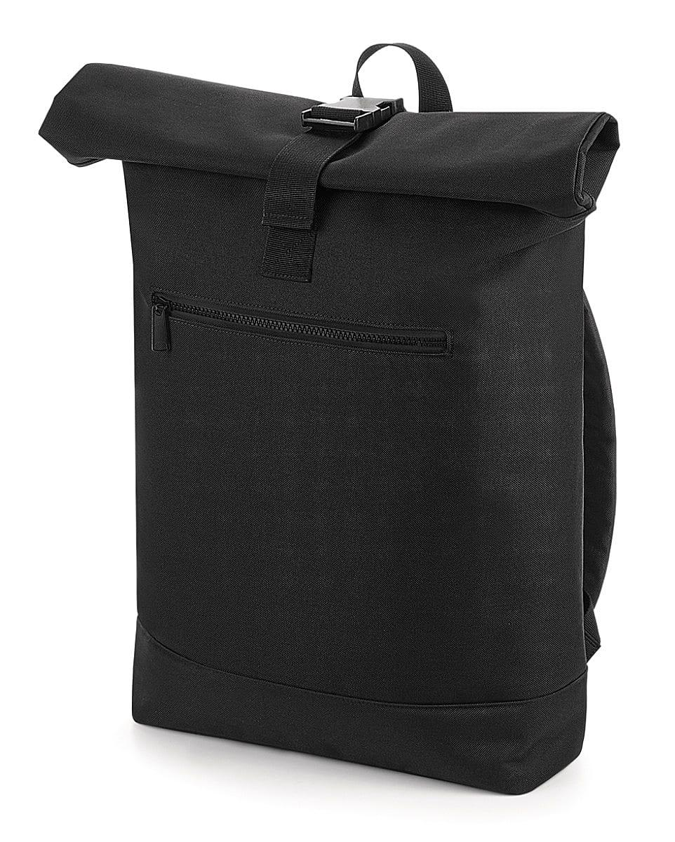Bagbase Roll-Top Backpack in Black (Product Code: BG855)