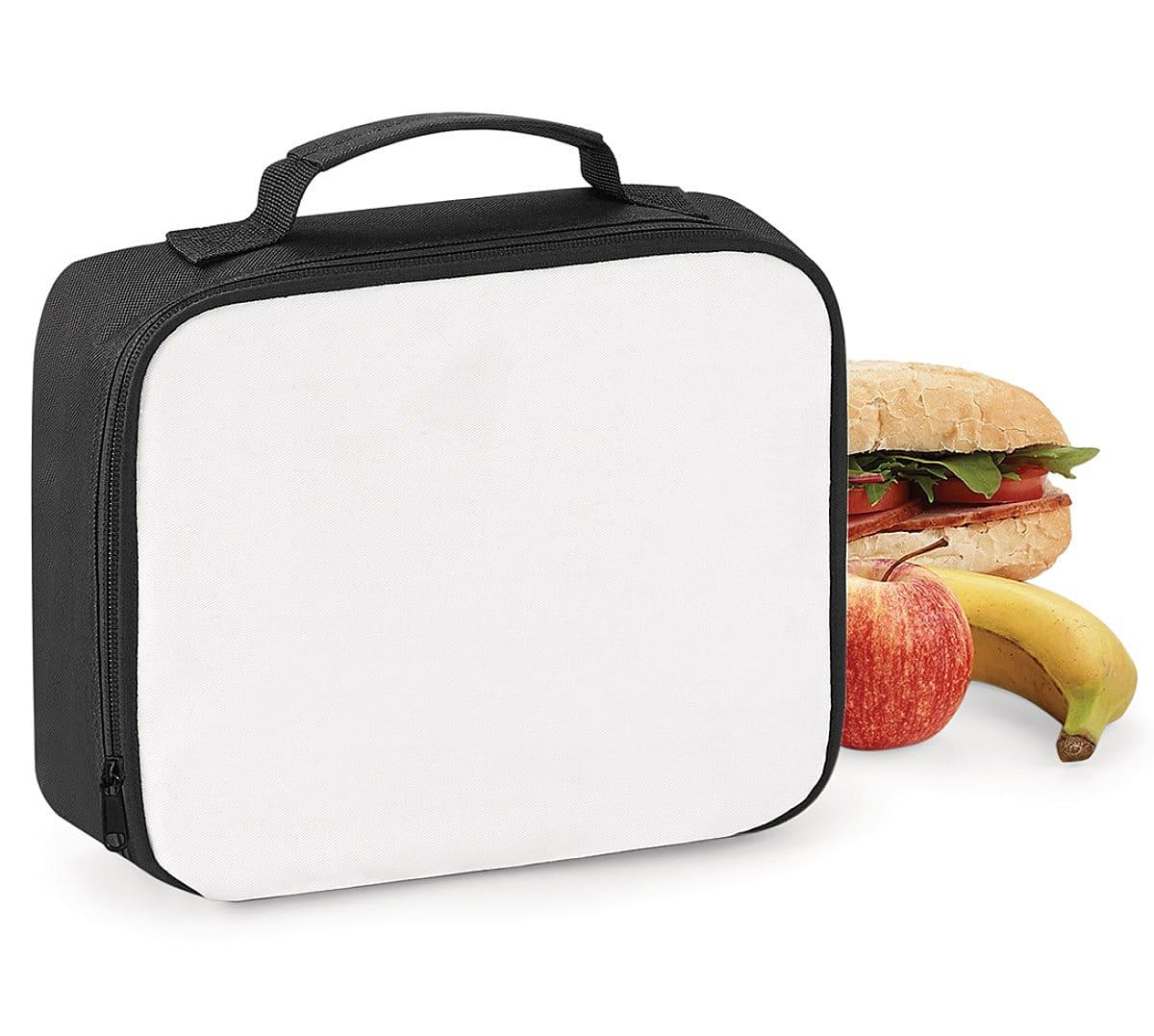 Bagbase Sublimation Lunch Cooler Bag in Black (Product Code: BG960)