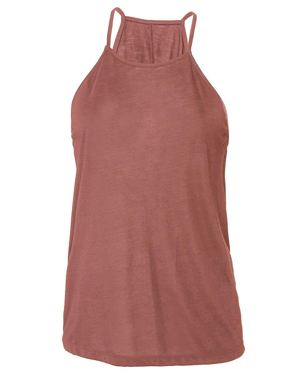 Bella Flowy High Neck Tank in Mauve (Product Code: BE8809)