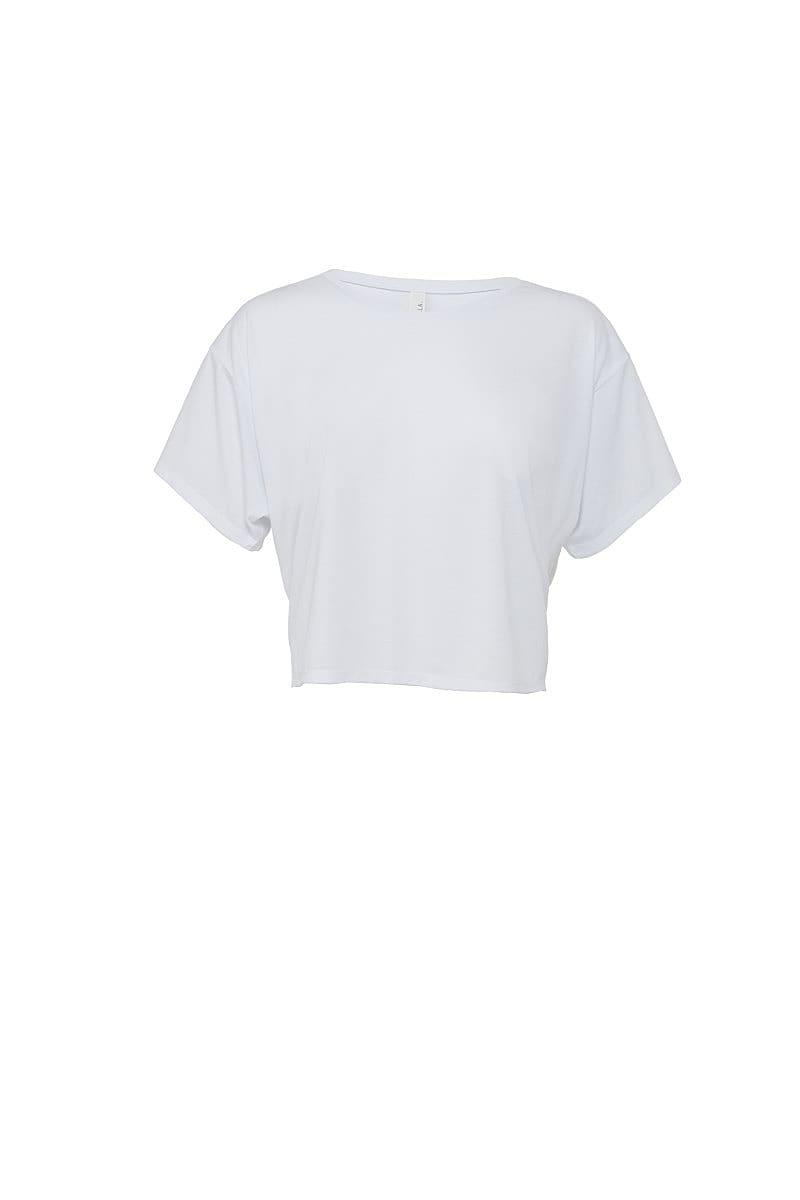 Bella Womens Boxy T-Shirt in White (Product Code: BE8881)