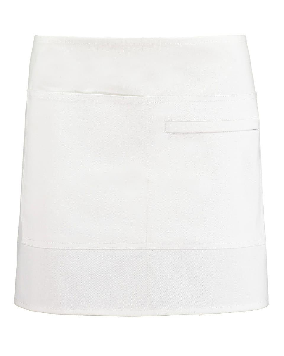 Bargear Unisex Short Bar Apron in White (Product Code: KK513)