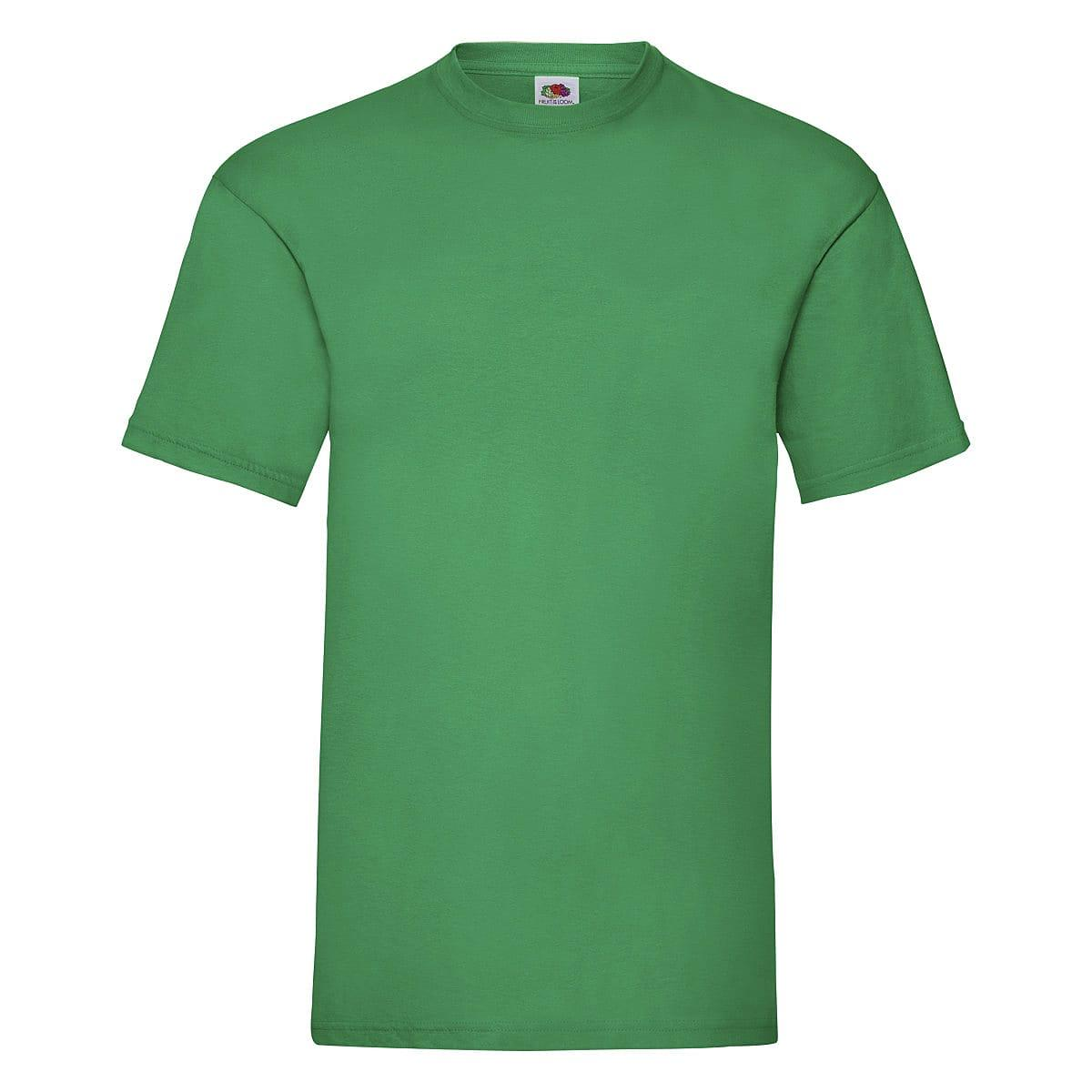 Fruit Of The Loom Valueweight T-Shirt in Kelly Green (Product Code: 61036)