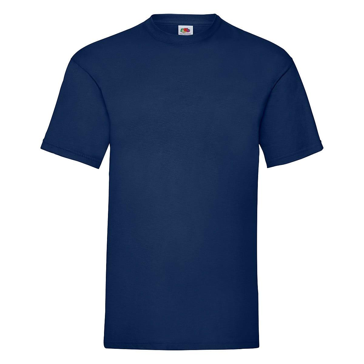 Fruit Of The Loom Valueweight T-Shirt in Navy Blue (Product Code: 61036)
