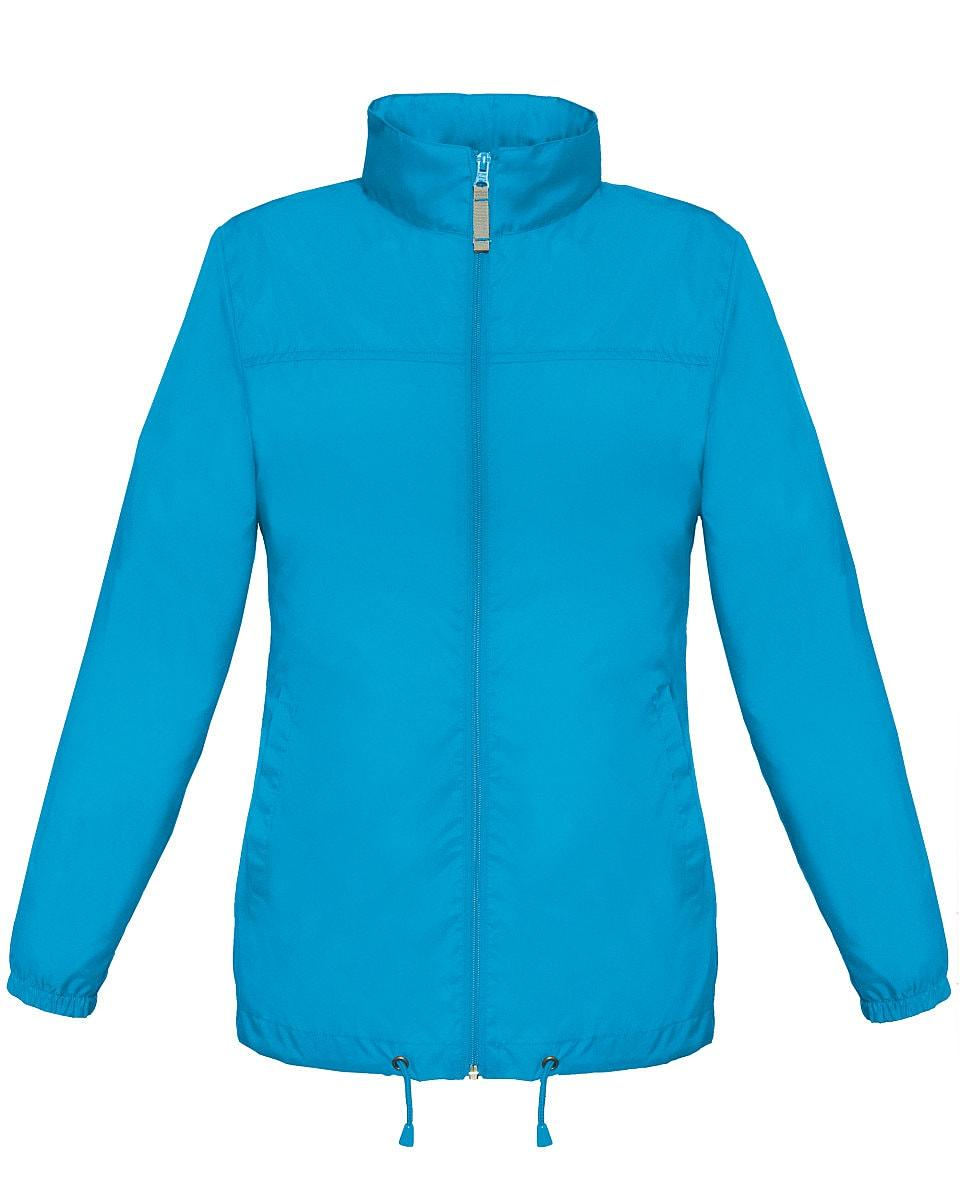 B&C Womens Sirocco Lightweight Jacket in Atoll (Product Code: JW902)