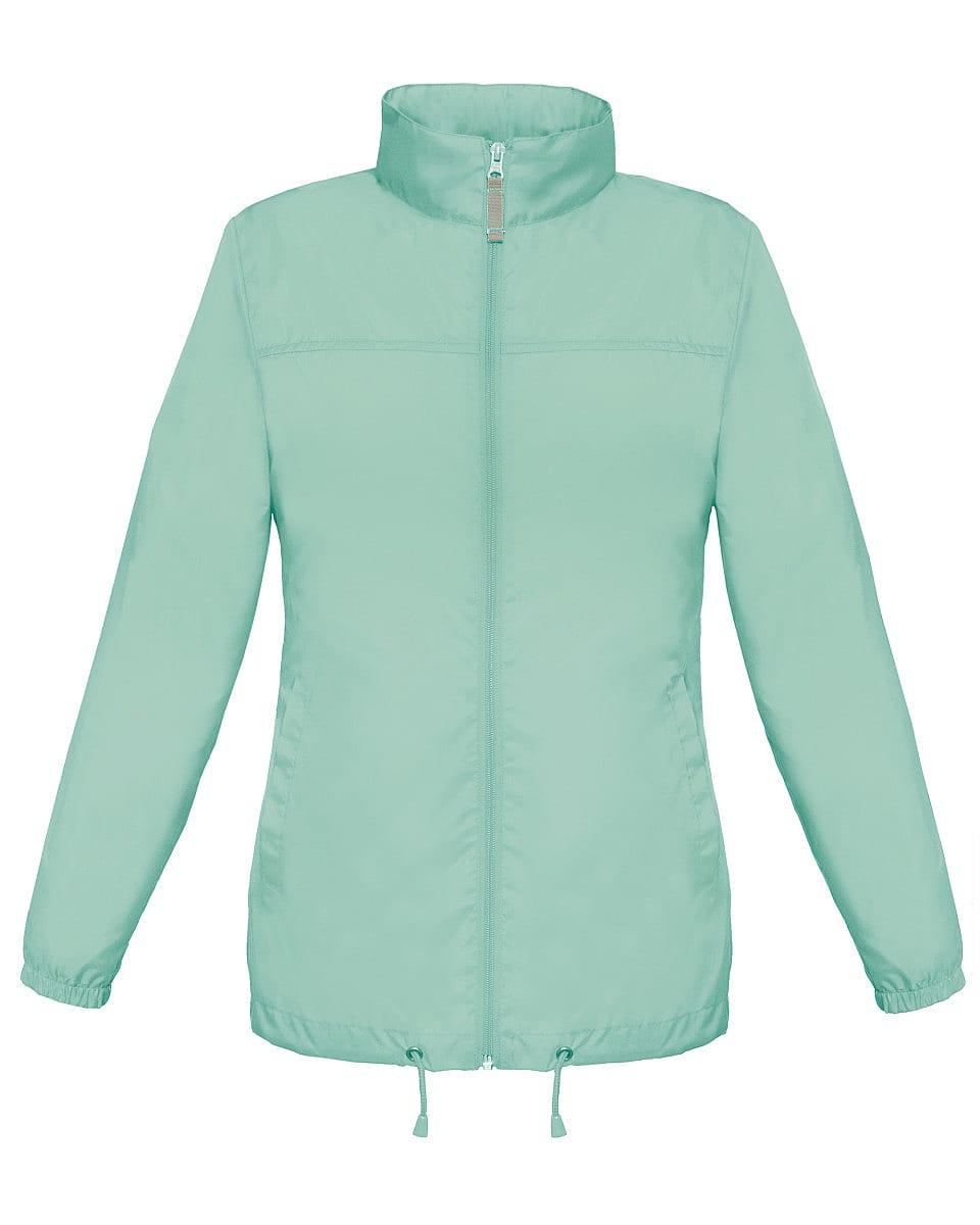 B&C Womens Sirocco Lightweight Jacket in Pixel Turquoise (Product Code: JW902)