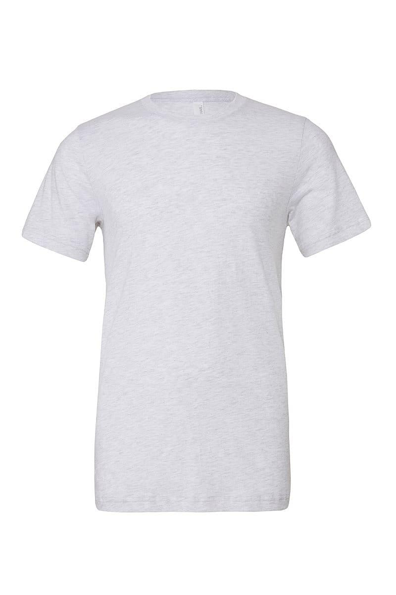 Bella Canvas Mens Tri-blend Short-Sleeve T-Shirt in White Fleck Triblend (Product Code: CA3413)