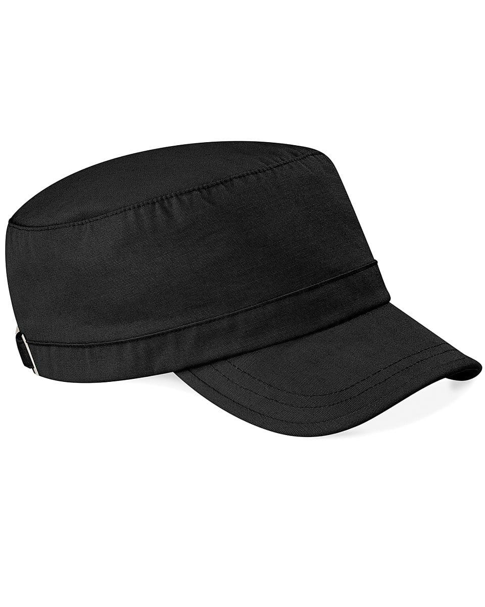 Beechfield Army Cap in Black (Product Code: B34)