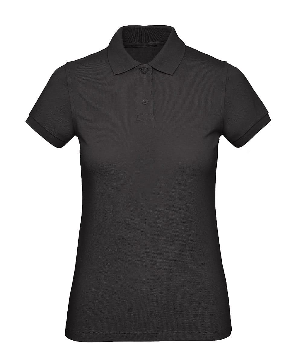B&C Womens Inspire Polo Shirt in Black (Product Code: PW440)