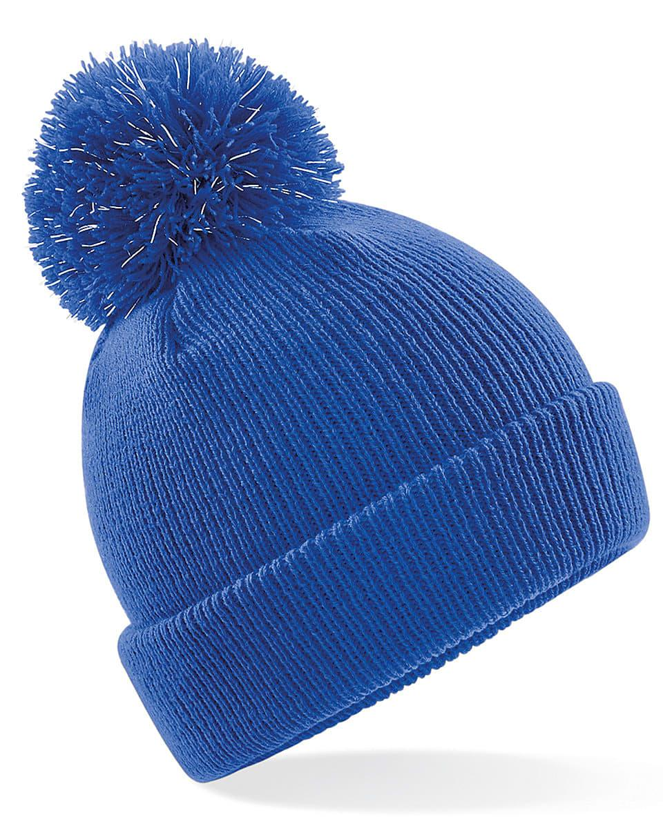 Beechfield Junior Reflective Beanie Hat in Bright Royal (Product Code: B406B)