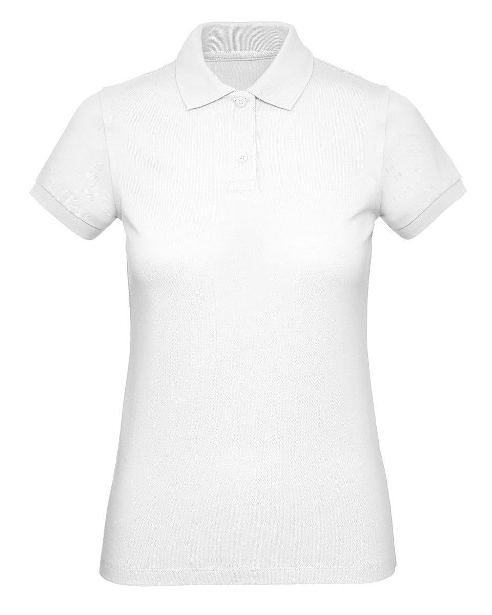 B&C Womens Inspire Polo Shirt in White (Product Code: PW440)