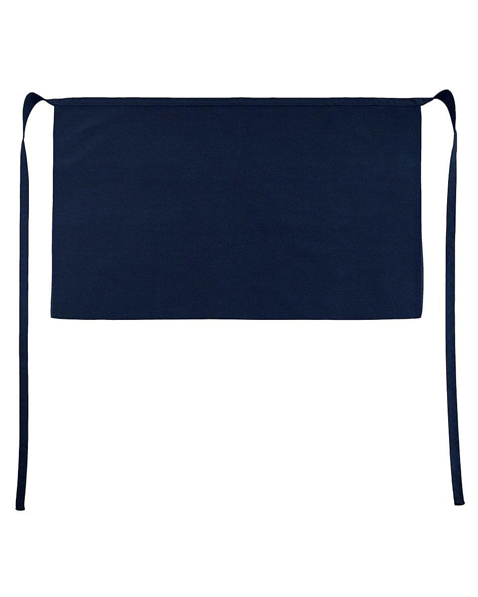 Jassz Bistro Brussels Short Apron in Navy Blue (Product Code: JG14)