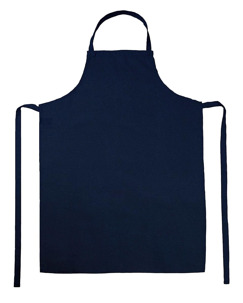Jassz Bistro Paris Bib Apron in Navy Blue (Product Code: JG21)