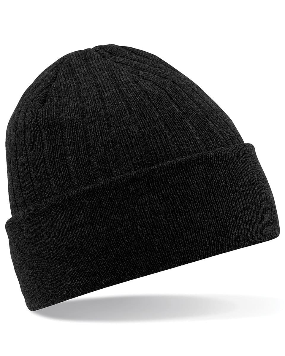 Beechfield Thinsulate Beanie Hat in Black (Product Code: B447)