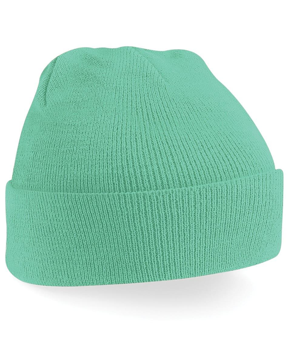 Beechfield Original Cuffed Beanie Hat in Mint (Product Code: B45)
