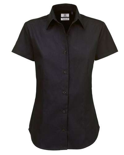 B&C Womens Sharp Twill Short-Sleeve Shirt