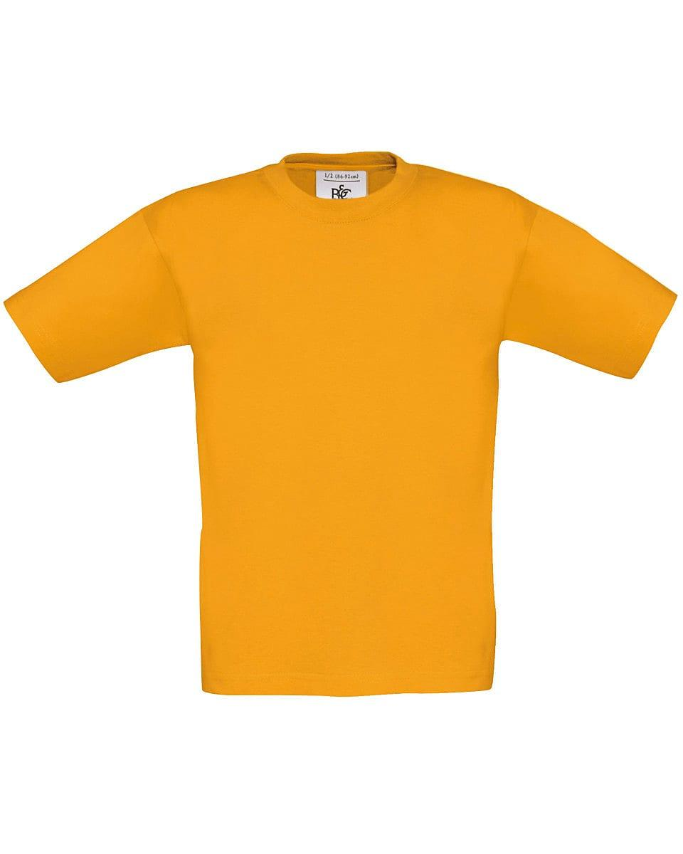 B&C Childrens Exact 150 T-Shirt in Apricot (Product Code: TK300)