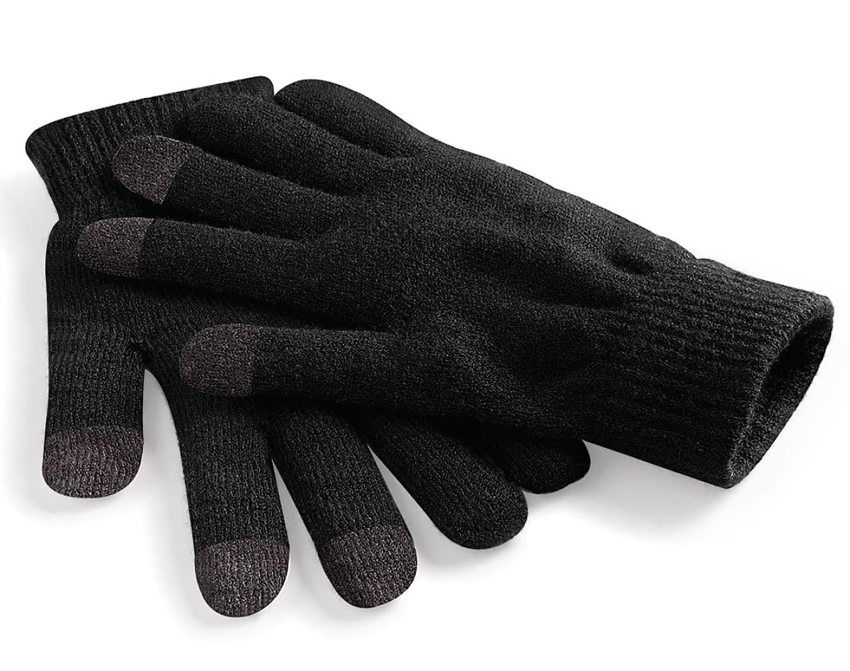 Beechfield Touchscreen Smart Gloves in Black (Product Code: B490)
