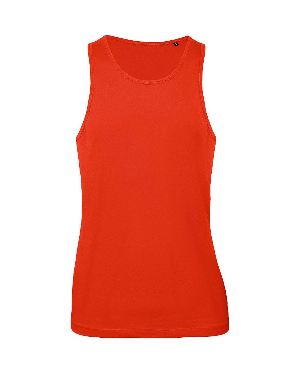 B&C Mens Inspire Tank in Fire Red (Product Code: TM072)