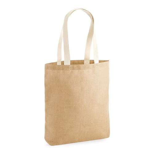Westford Mill Unlaminated Jute Tote