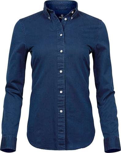 Tee Jays Womens Casual Twill Shirt