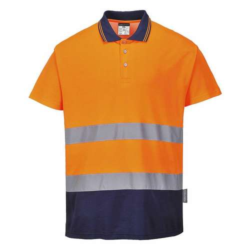 Portwest Two Tone Cotton Comfort Polo Shirt