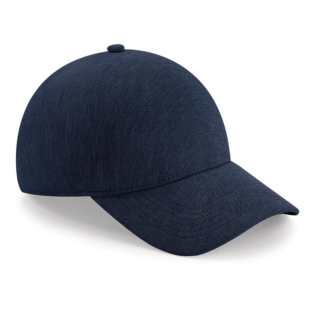 Beechfield Seamless Athleisure Cap in Heather Navy (Product Code: B556)