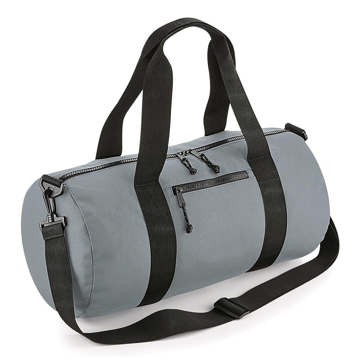 Bagbase Recycled Barrel Bag in Pure Grey (Product Code: BG284)