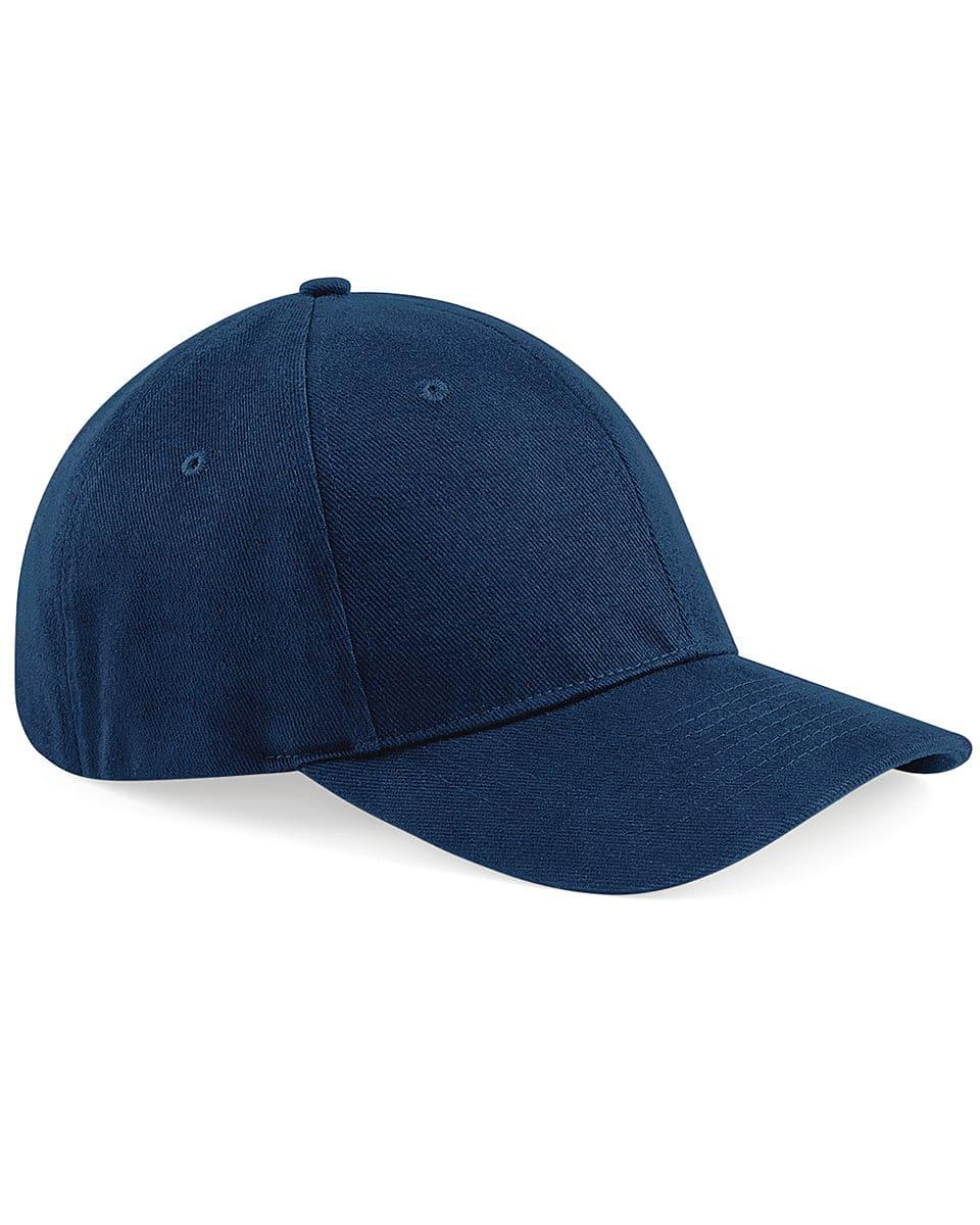 Beechfield Signature Stretch-Fit Cap in French Navy (Product Code: B860)