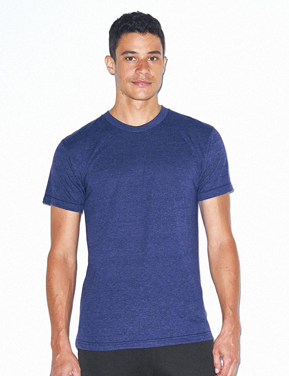 American Apparel Adult Triblend T-Shirt in Tri-Oatmeal (Product Code: TR401W)