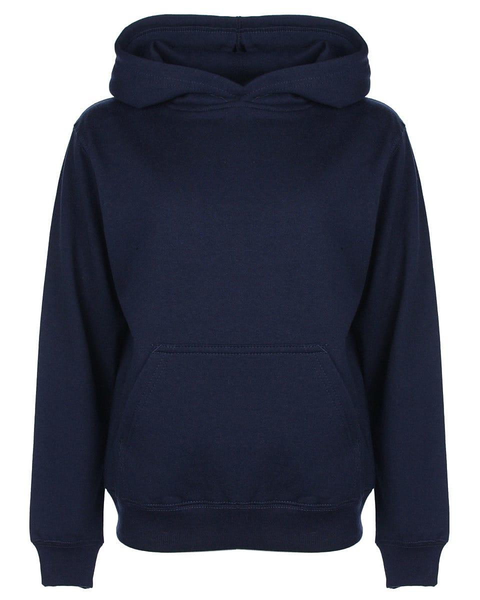 FDM Junior Hoodie in Navy Blue (Product Code: FH004)