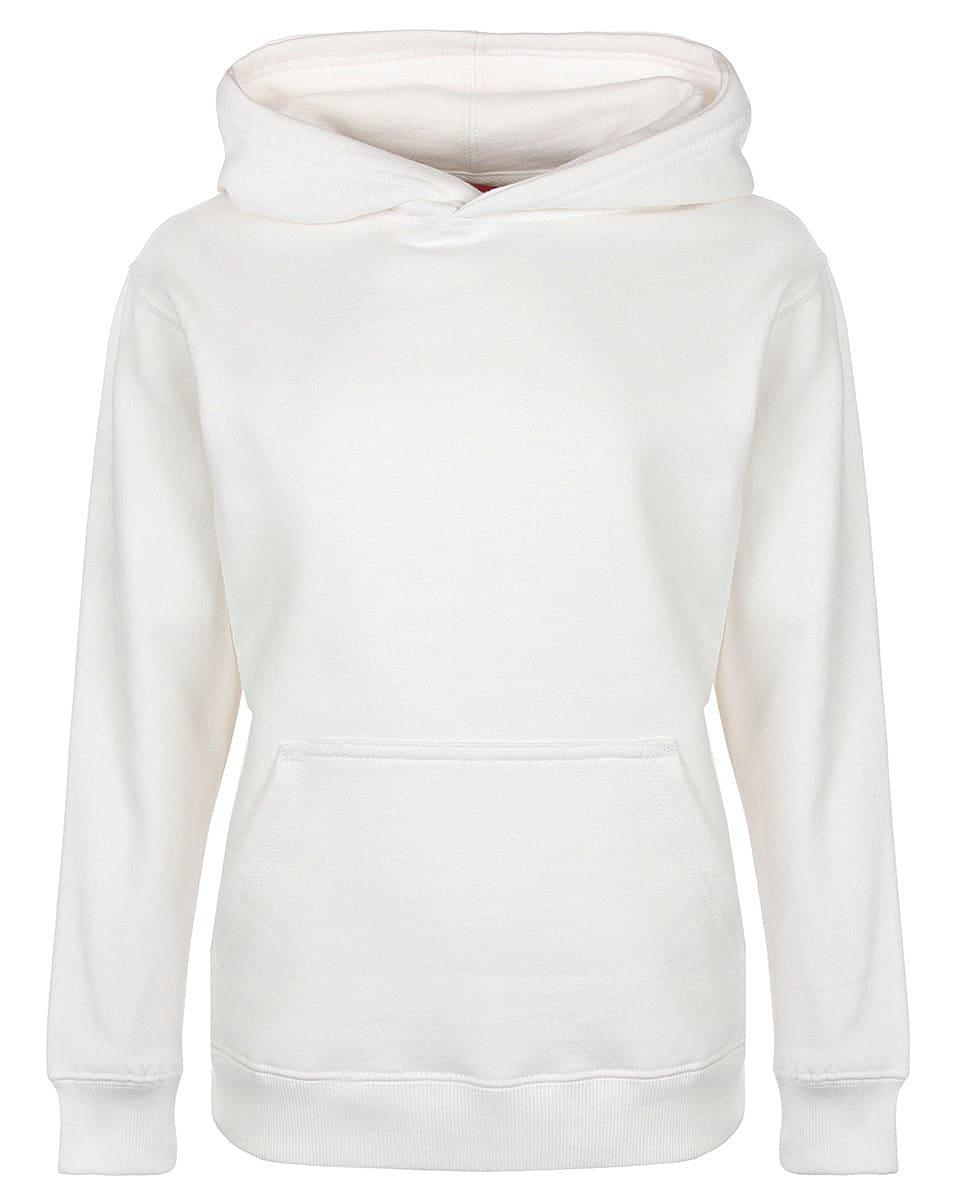 FDM Junior Hoodie in White (Product Code: FH004)