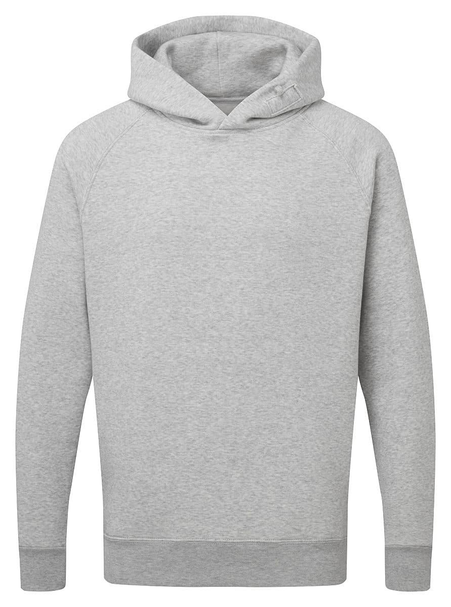 FDM Tagless Media Hoodie in Heather Grey (Product Code: TH002)