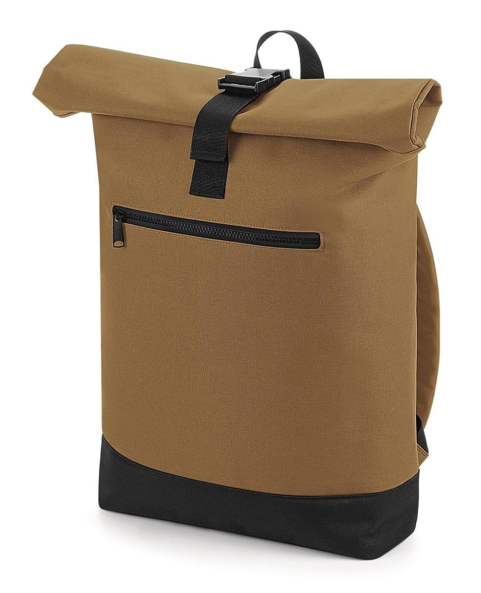 Bagbase Roll-Top Backpack in Caramel (Product Code: BG855)