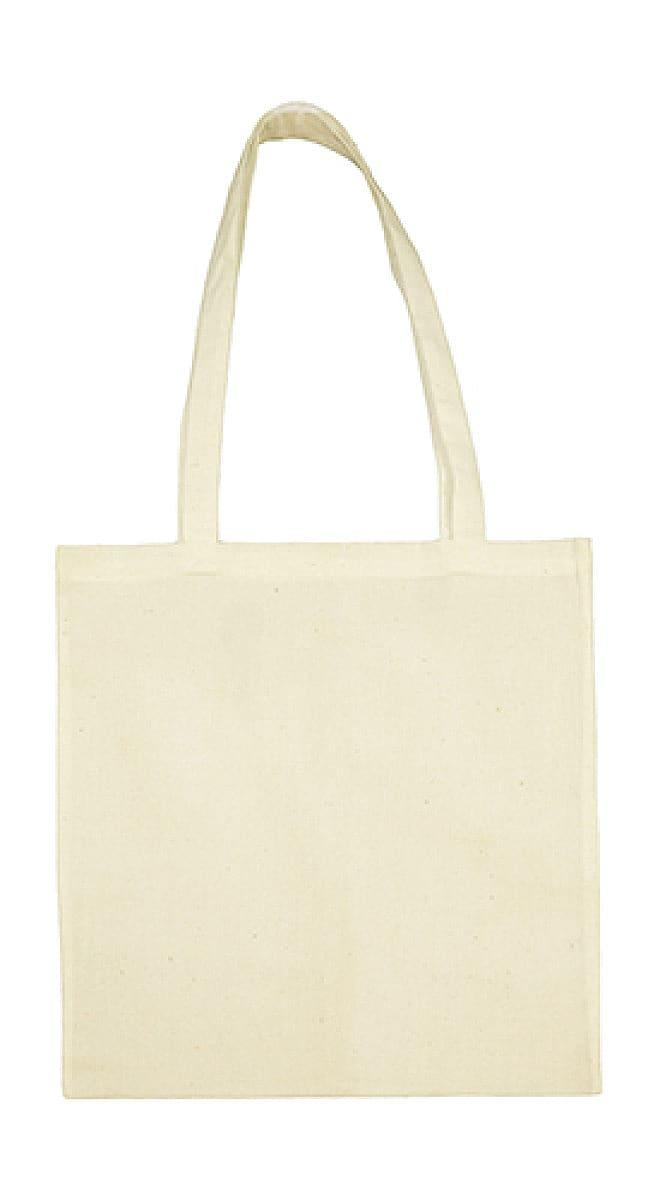 Jassz Bags Beech Cotton Long-Handle Bag in Natural (Product Code: 3842LH)