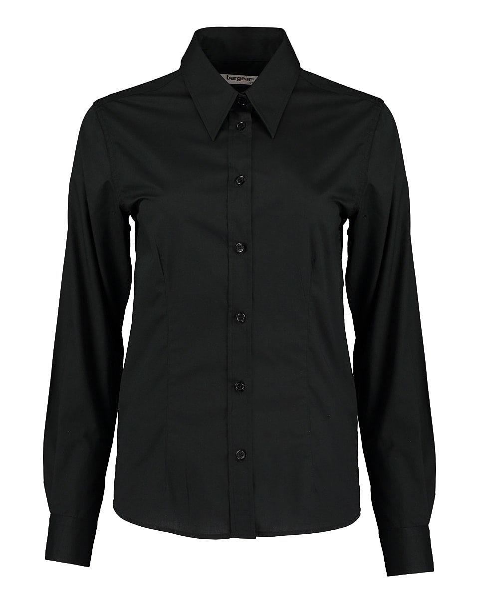 Bargear Womens Long-Sleeved Bar Shirt in Black (Product Code: KK738)