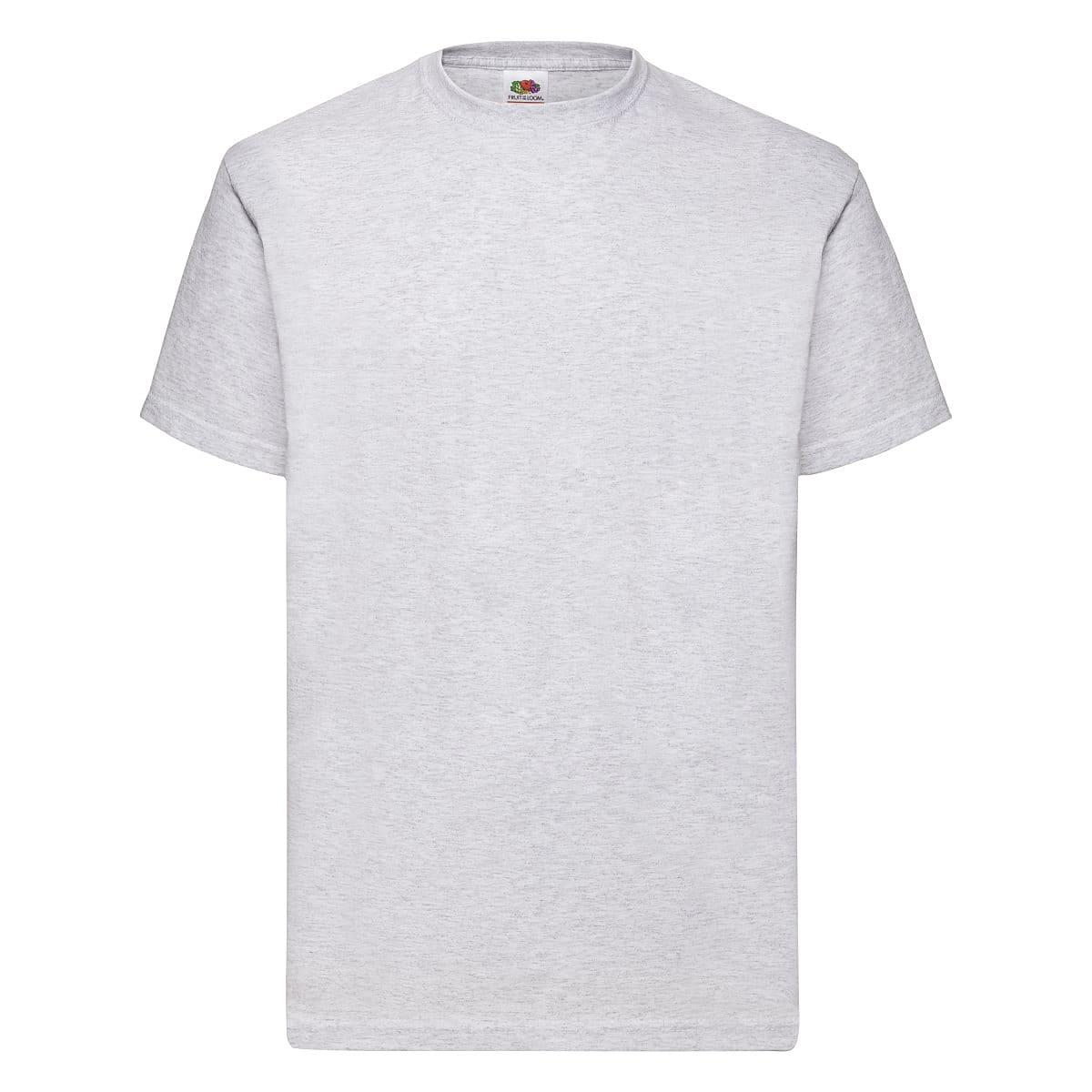 Fruit Of The Loom Valueweight T-Shirt in Ash Grey (Product Code: 61036)