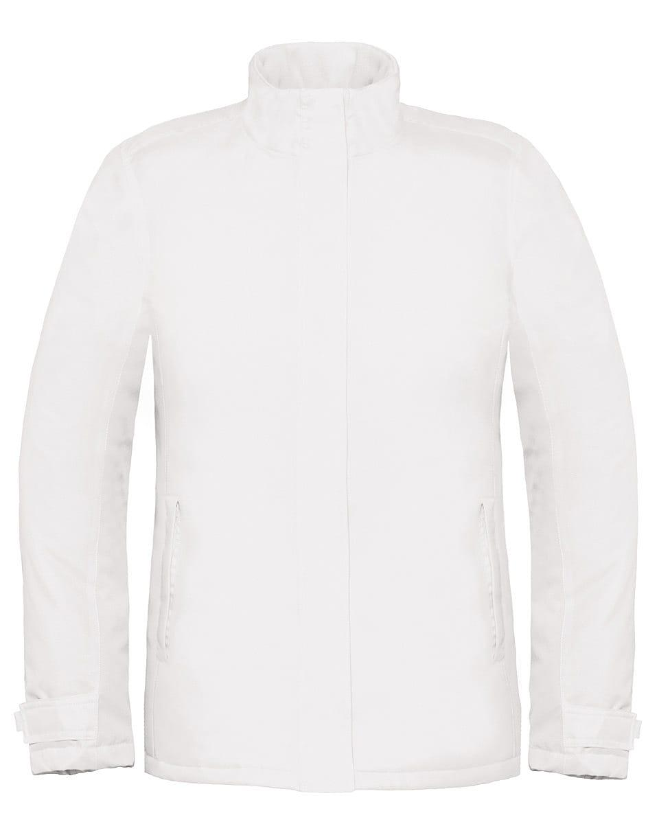 B&C Womens Real+ Jacket in White (Product Code: JW925)
