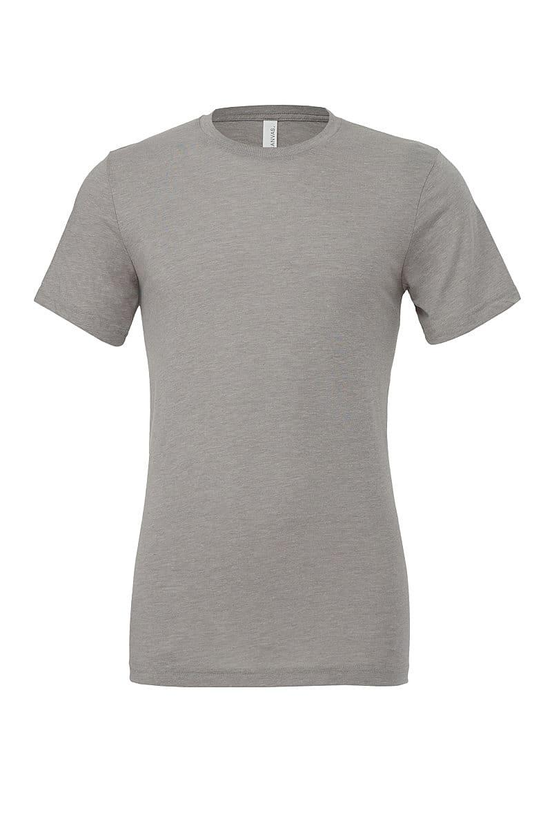 Bella Canvas Mens Tri-blend Short-Sleeve T-Shirt in Athletic Grey Triblend (Product Code: CA3413)