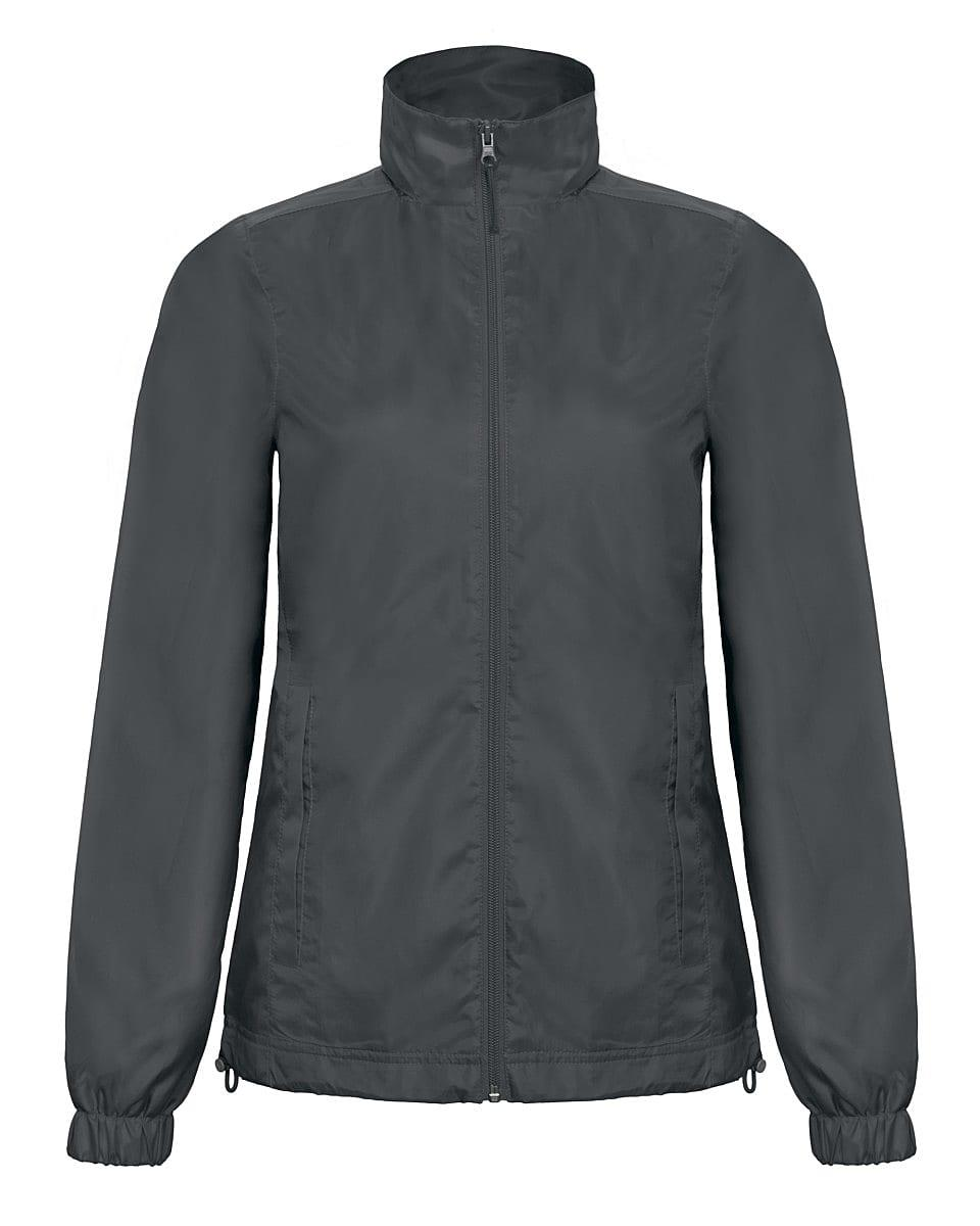 B&C Womens ID.601 Jacket in Dark Grey (Product Code: JWI61)