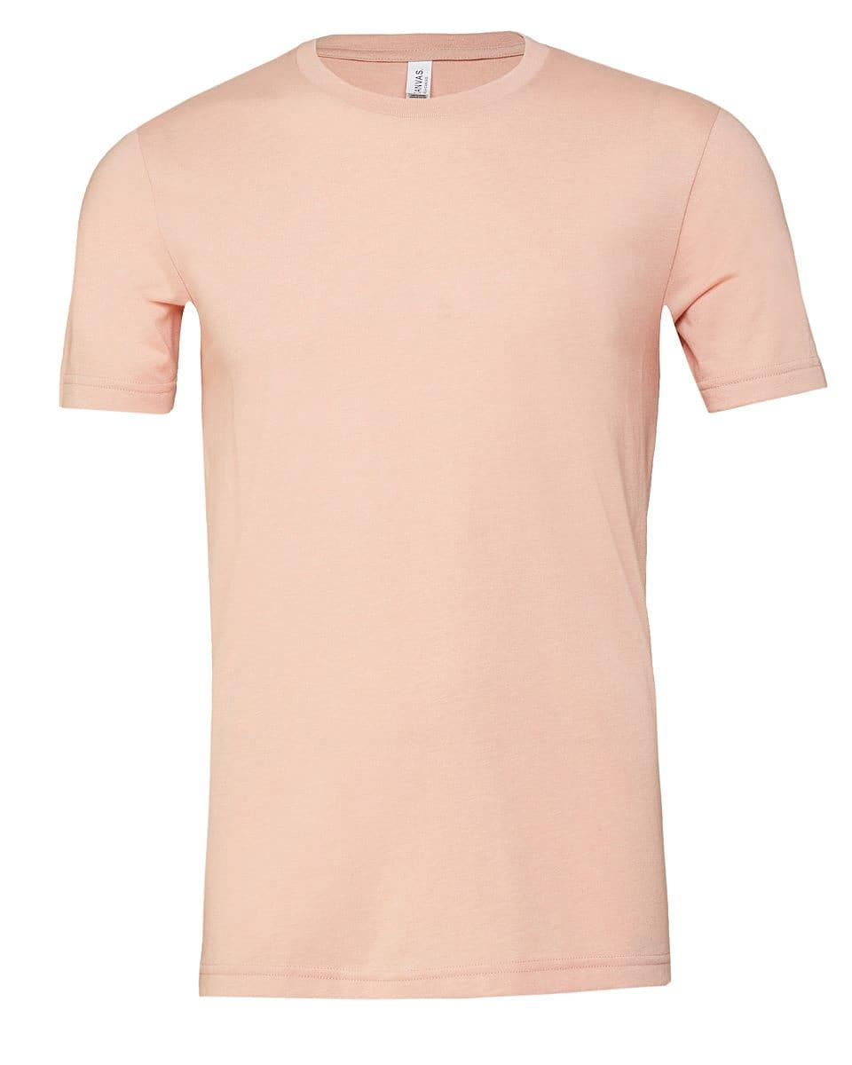 Bella Canvas Youth Triblend Short-Sleeve T-Shirt in Peach Triblend (Product Code: CA3413Y)