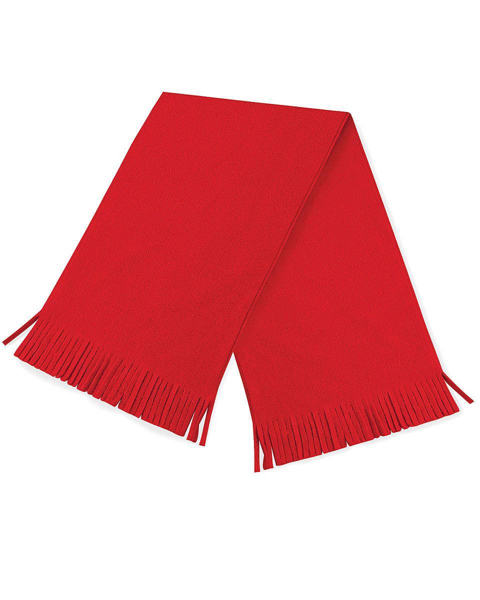 Beechfield Suprafleece Dolomite Scarf in Classic Red (Product Code: B291)
