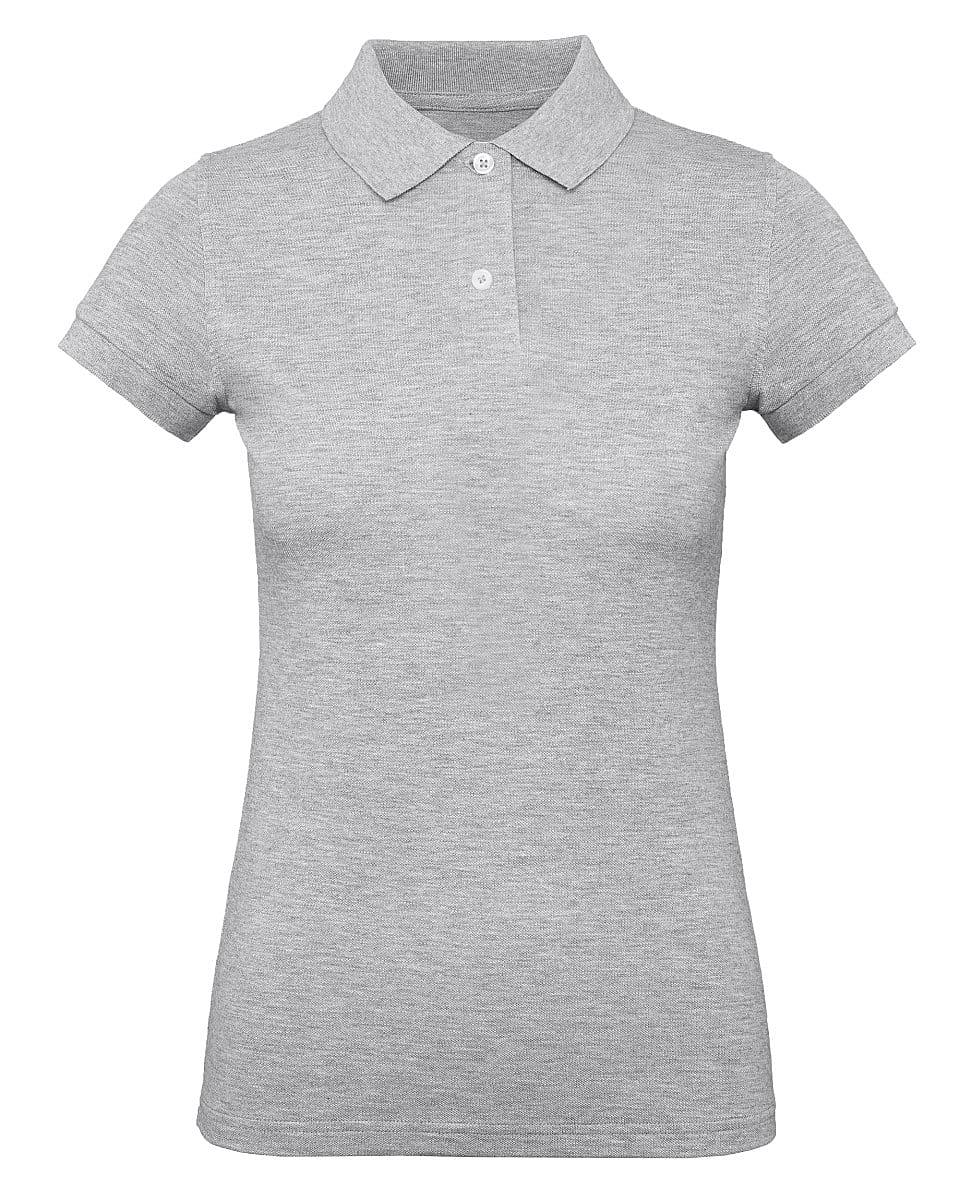 B&C Womens Inspire Polo Shirt in Heather Grey (Product Code: PW440)