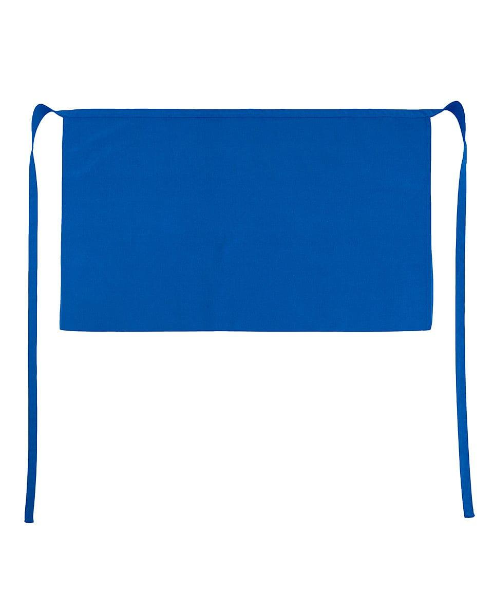 Jassz Bistro Brussels Short Apron in Royal Blue (Product Code: JG14)